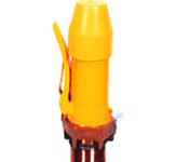 open discharge valve